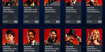red dead redemption 2 avatar