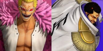 One Piece: Pirate Warriors 4 lança trailer dos personagens Donquixote Doflamingo e Issho (Fujitora)