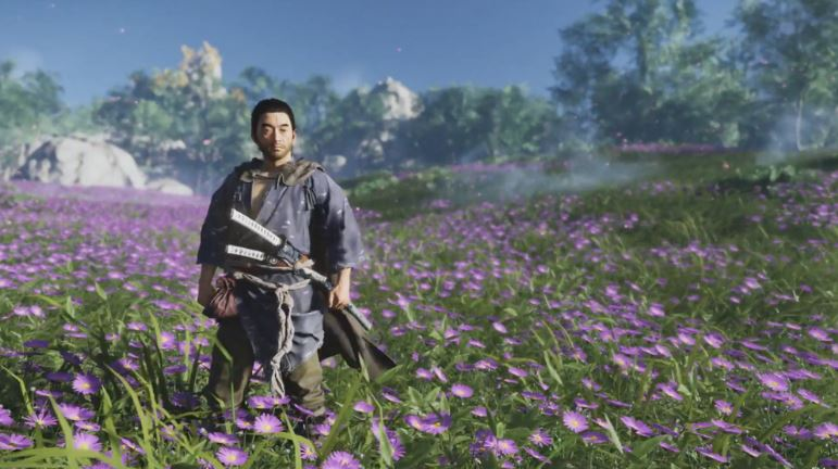 Ghost of Tsushima customização personalização