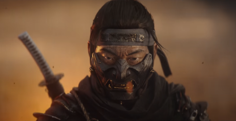 Ghost of Tsushima trailer cg