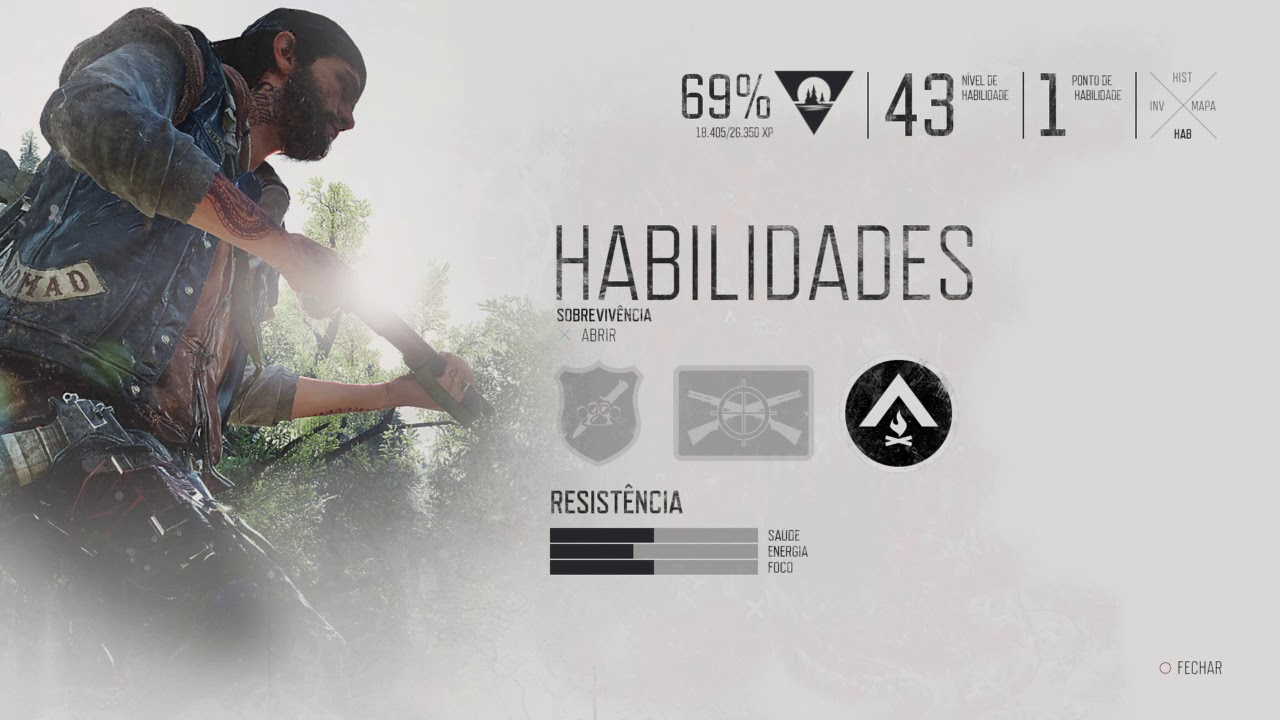 days gone habilidades critica analise review