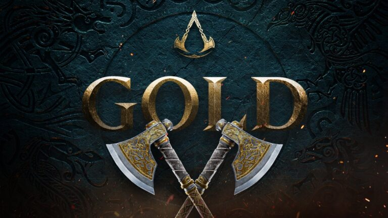 Assassin's Creed Valhalla gold concluido