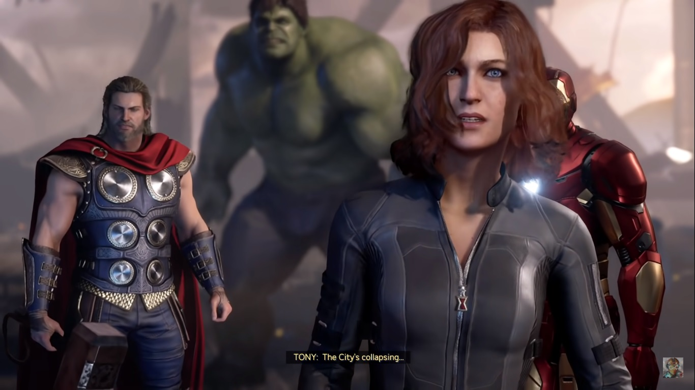 marvel's avengers analise critica review gráficos