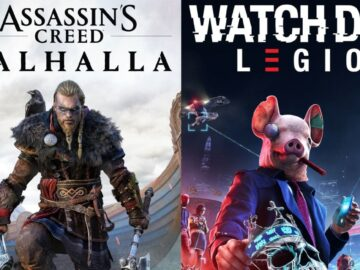 Assassin's Creed Valhalla Watch Dogs Legion problema versão ps5