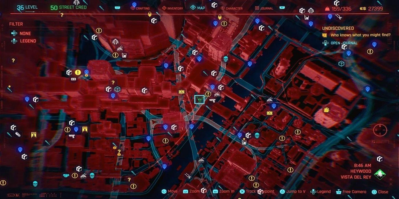 cyberpunk 2077 encontrar pistola skippy