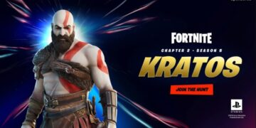 kratos skin fortnite