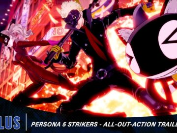 persona 5 strikers trailer all-out action