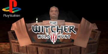 the witcher 3 demake ps1