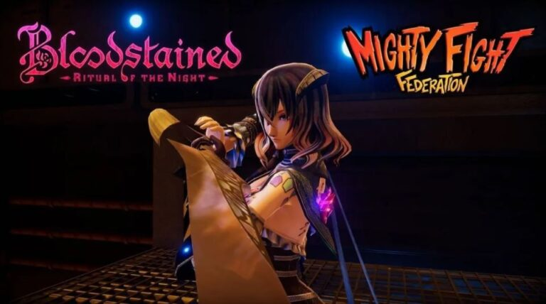 Mighty Fight Federation miriam Bloodstained Ritual of the Night