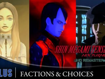 Shin Megami Tensei III Nocturne HD Remaster exibe trailer Factions and Choices