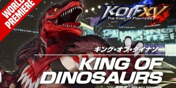 The King of Fighters XV king of dinosaurs